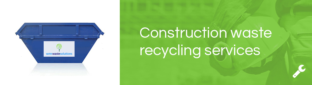 construction waste recycling services